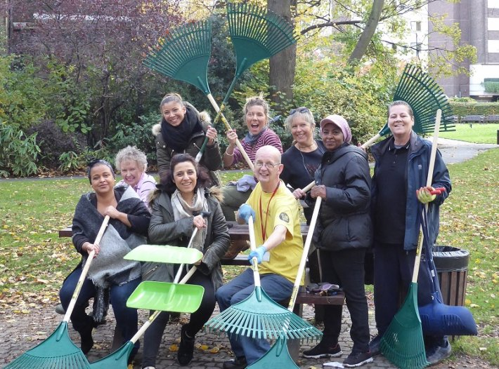 Volunteers needed for our first gardening day of the year