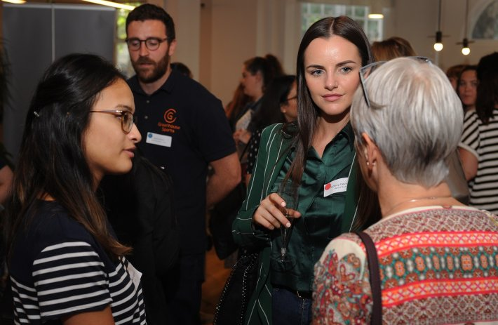 Successful connections: our third corporate-community event attracts record numbers